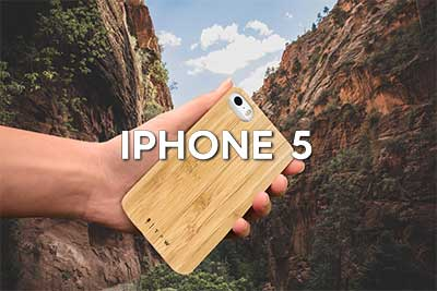 wooden iphone 5 phone case