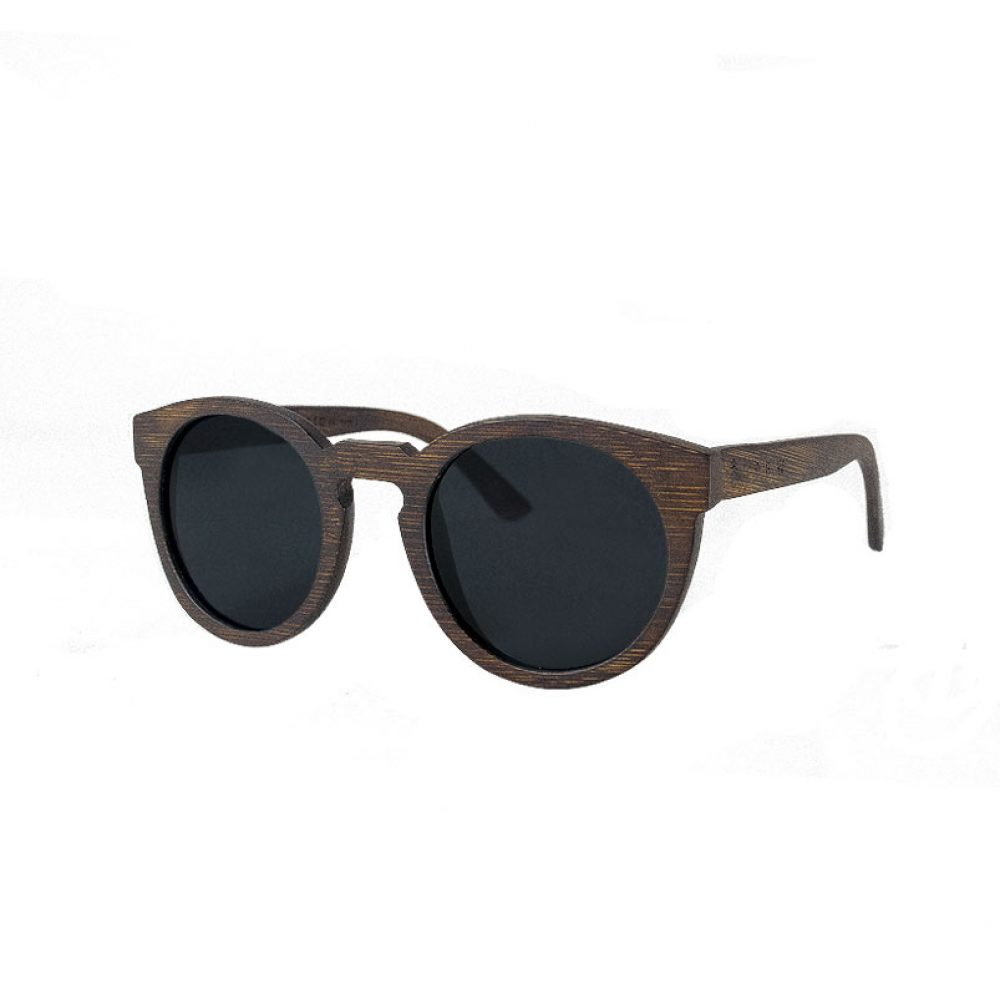 wooden keyhole sunglasses