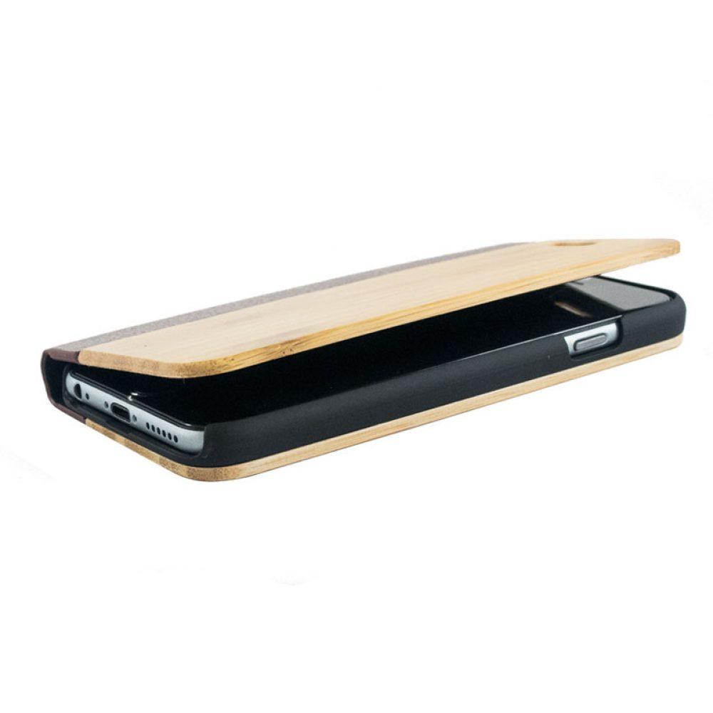 Wooden aurico flipcase