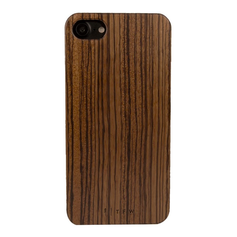 Zebrawood iphone 7 case