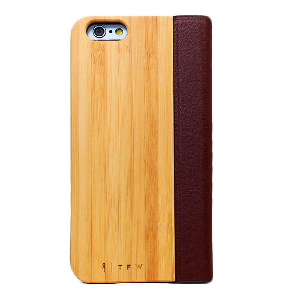 Aurico Flipcover wood