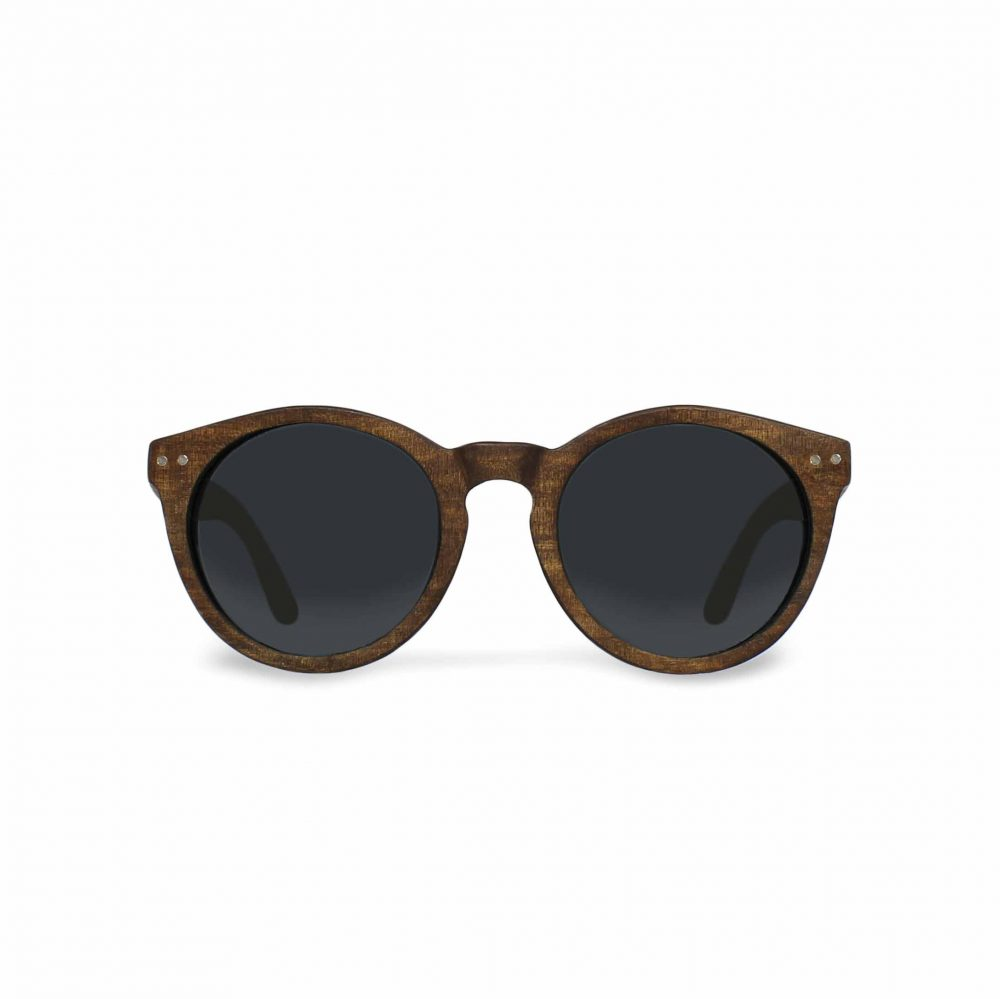 Dark wood sunglasses calero