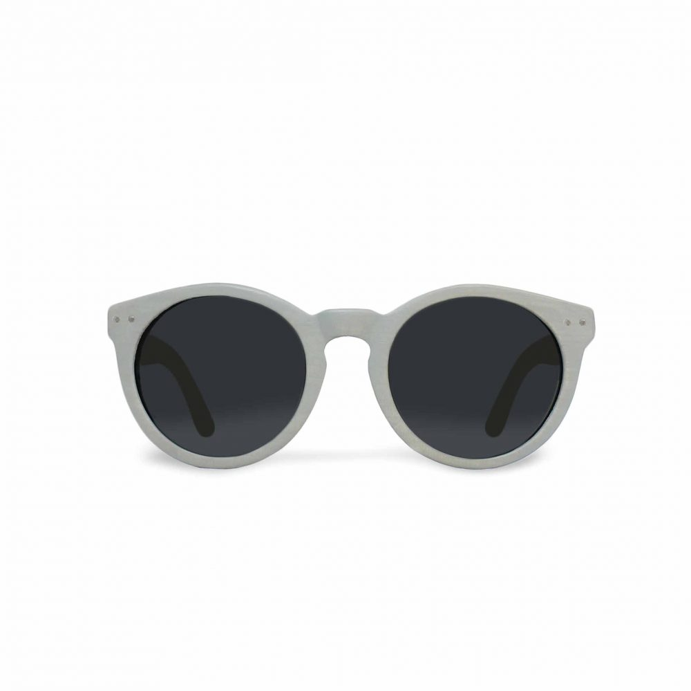 Grey wood sunglasses