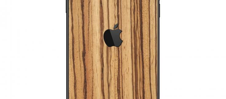 Wooden iPhone Sticker - RAUW - Wooden